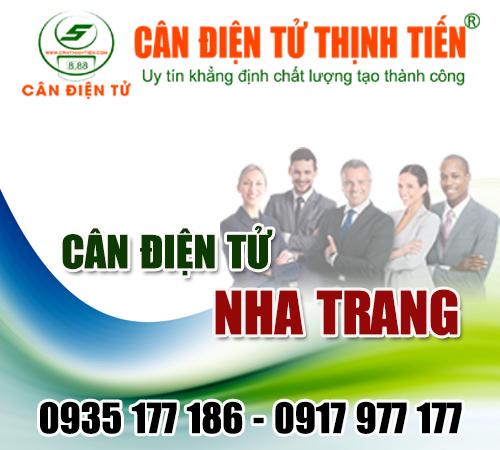 Cân điện tử Nha Trang